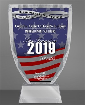 Golden Gate office solutions Awards